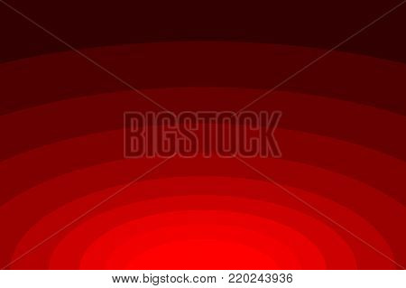 Abstract striped concentric - red background, Ellipse pattern,