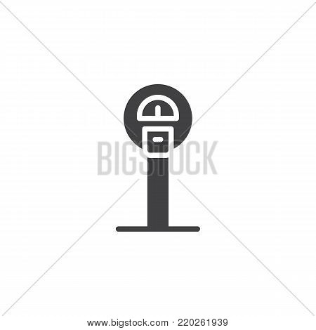 Parking Meter Icon Vector & Photo (Free Trial)   Bigstock