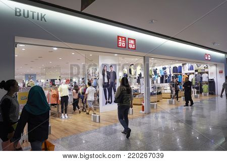 kuala lumpur, malaysia 20th march 2016,Uniqlo Co., Ltd. is a Japanese casual wear designer, manufacturer and retailer. The company has been a wholly owned subsidiary of Fast Retailing Co., Ltd.