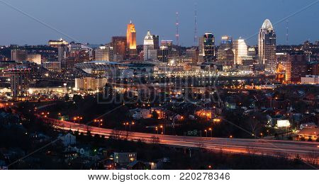 Urban sprawl is alive and well here in Cincinnat Ohio in the upper midwest USA