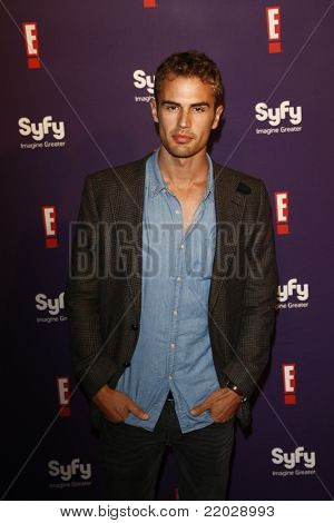 SAN DIEGO - JUL 23: Theo James at the SyFy/E! Comic-Con Party at Hotel Solamar in San Diego, California on July 23, 2011.