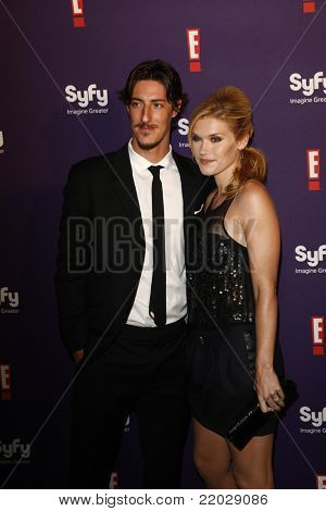 SAN DIEGO - JUL 23: Eric Balfour; Emily Rose at the SyFy/E! Comic-Con Party at Hotel Solamar in San Diego, California on July 23, 2011.