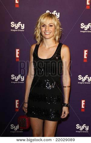 SAN DIEGO - JUL 23: Alison Haislip at the SyFy/E! Comic-Con Party at Hotel Solamar in San Diego, California on July 23, 2011.