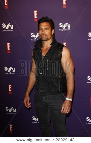 SAN DIEGO - JUL 23: Manu Bennett at the SyFy/E! Comic-Con Party at Hotel Solamar in San Diego, California on July 23, 2011.
