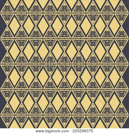 Ethnic pattern. Geometric pattern. Ethnic background pattern, Ethnic wallpaper pattern, Ethnic pattern,Geometric Ethnic pattern design for background or wallpaper. Vector illustration,EPS.8 EPS.10