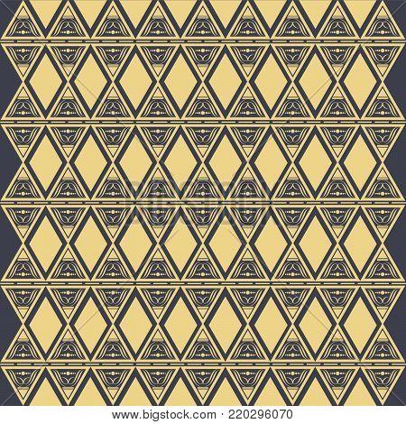 Ethnic pattern. Geometric pattern. Ethnic background pattern, Ethnic wallpaper pattern, Ethnic pattern,Geometric Ethnic pattern design for background or wallpaper. Vector illustration,EPS.8 EPS.10