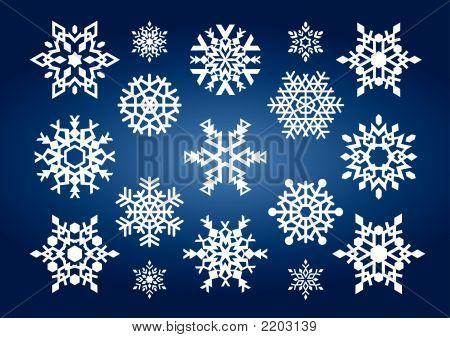 Snowflakes (Vector Or Xxl Jpeg Image)
