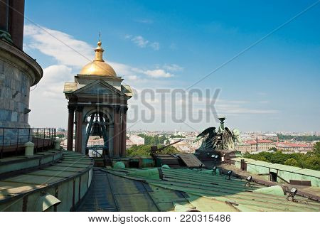 View From St Isaac's Cathedral In St Petersburg