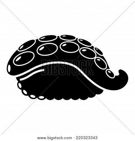 Sushi octopus icon. Simple illustration of sushi octopus vector icon for web
