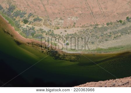 Horse Shoe Bend. Colorado River. Utah.  . USA.