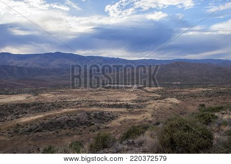 The view of Bumble Bee Arizona from Sunrise Point