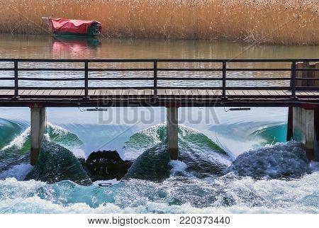Regulation of a water level of Ohrid lake in Struga - Macedonia