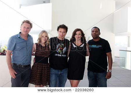 SAN DIEGO - JUL 22:  Bill Pullman, Alexa Havins, John Barrowman, Eve Myles, Mekhi Phifer at the 2011 Comic-Con Convention - Day 2 at San Diego Convention Center on July 22, 2010 in San DIego, CA