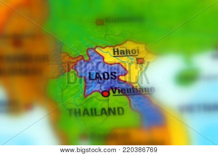 Laos, officially the Lao People's Democratic Republic.