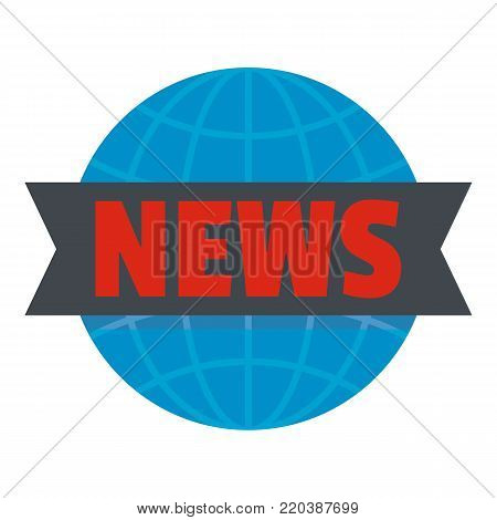 Important news icon. Flat illustration of important news vector icon for web.