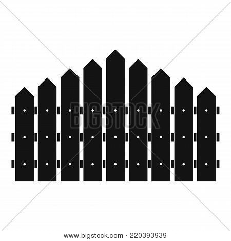 Triangular fence icon. Simple illustration of triangular fence vector icon for web.