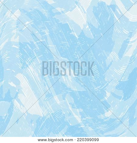 Pale blue stained abstract background. Vector modern background for posters, sites, web,  cards, covers, interior design
