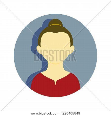 Mature Women Bond Hair Tie People Vector Illustration Graphic Design