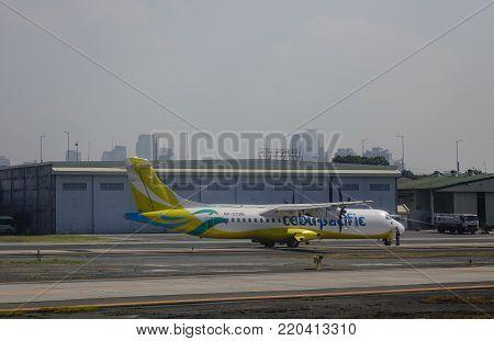 Aircrafts Docking At The Airport