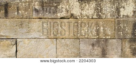 Huge Sandstone Wall