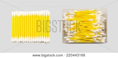 Cotton Buds Isolated