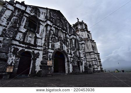 Roman Catholic Church, Daraga Church in Daraga, Albay, Philippines.
