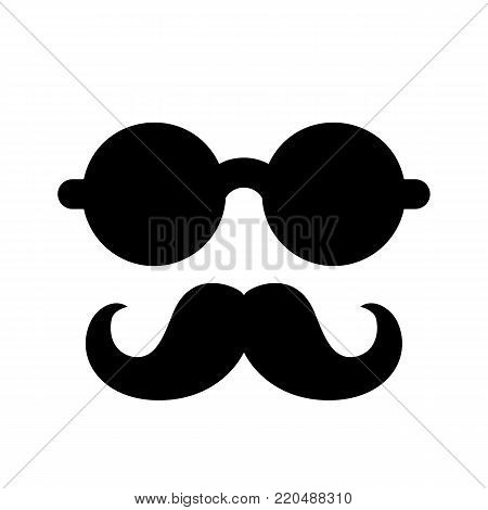 Mustache And Glasses Icon