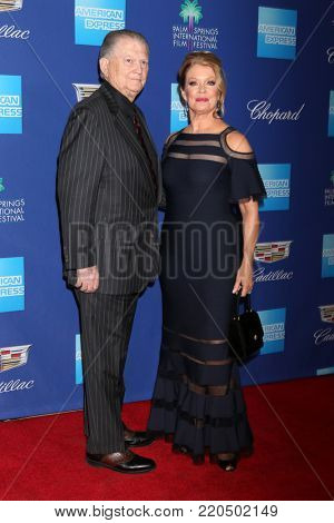 PALM SPRINGS - JAN 2:  Burt Sugerman, Mary Hart at the 2018 Palm Springs International Film Festival Gala at Convention Center on January 2, 2018 in Palm Springs, CA