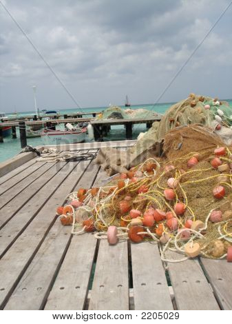 Nets On The Dock