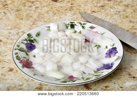 Diced Onions