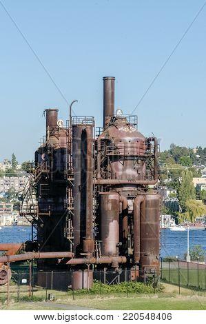 Gasworks Park -seattle, Washington