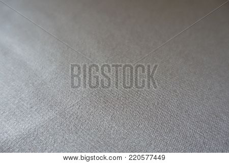 Close view of simple beige jersey fabric