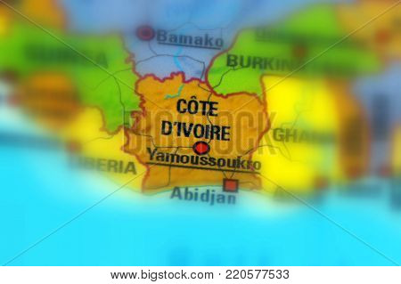 Côte d'Ivoire or Ivory Coast, officially the Republic of Côte d'Ivoire.