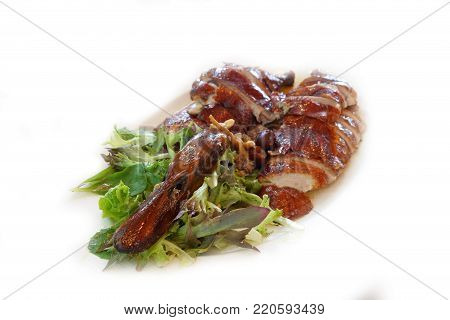 Roasted Duck Chinese Style