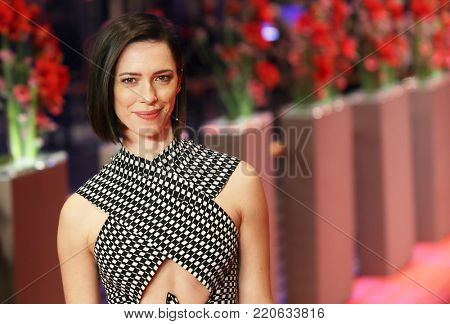 Rebecca Hall attends the 'The Dinner' premiere during the 67th Berlinale International Film Festival Berlin at Berlinale Palace on February 10, 2017 in Berlin, Germany.