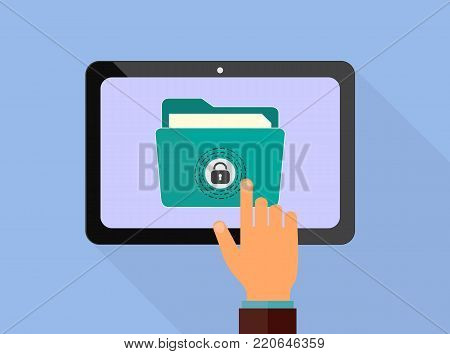 Internet security and secure money transfer flat vector illustration design. E-commerce, e-banking, wire transfers, m-banking, money management business concepts. Design for web banners and apps. Vector illustration.