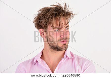 Handsome Bearded Sexy Christmas Man