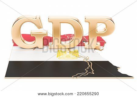 gross domestic product GDP of Belarus concept, 3D rendering isolated on white background