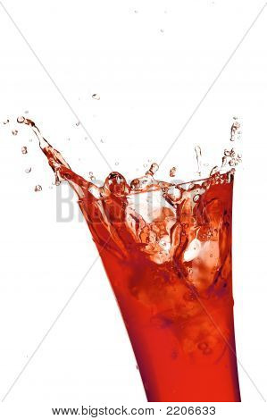 Glass With Juice