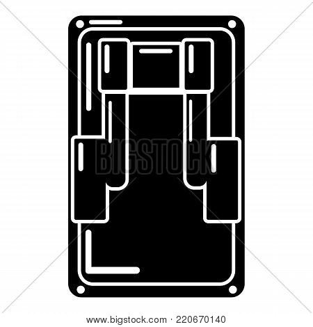 Switch icon. Simple illustration of switch vector icon for web.