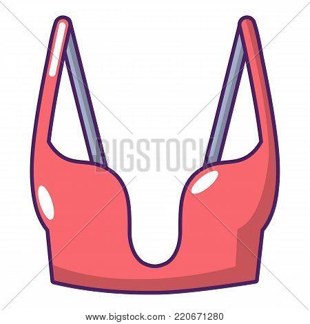Brassiere women icon. Cartoon illustration of brassiere women vector icon for web