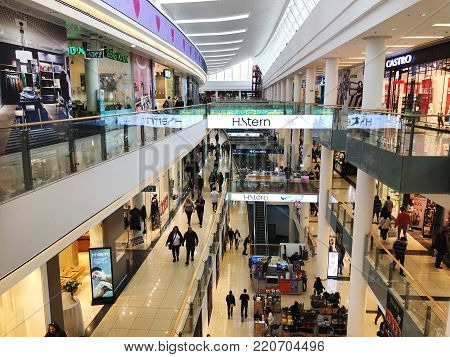 RISHON LE ZION, ISRAEL- DECEMBER 29, 2017: Inside the Department Store in Rishon Le Zion, Israel