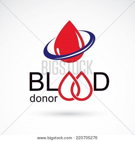 Blood Donation Vector Photo Free Trial Bigstock