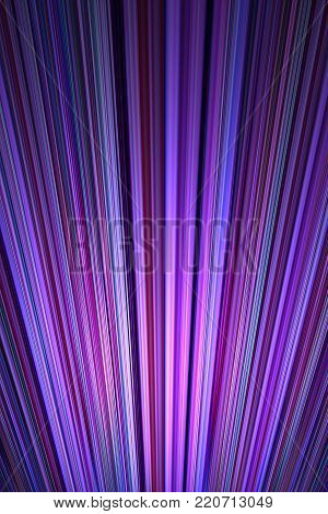 A radiating purple and violet stripes background