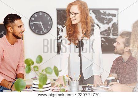 Businessman In The International Company