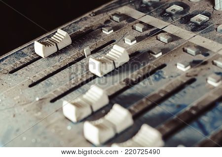 equipment for sound mixer control, electornic device.