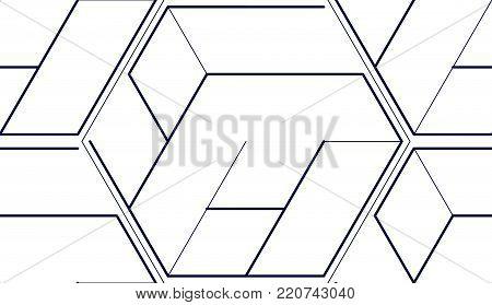 Geometric 3d Lines Vector Photo Free Trial Bigstock