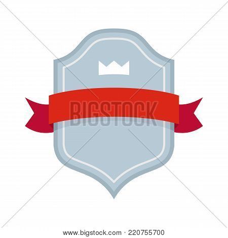 Badge best quality icon. Flat illustration of badge best quality vector icon isolated on white background