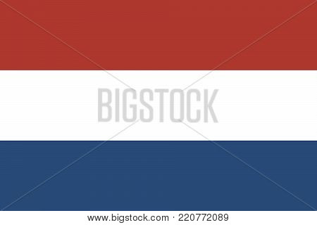 Flag of the Kingdom of the Netherlands, Flag of Holland