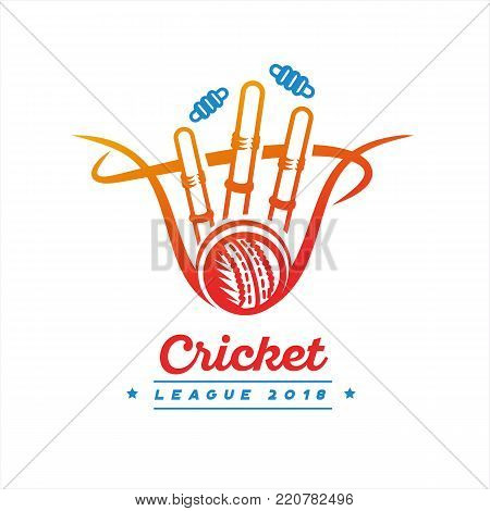 Vector elements for Cricket design. Use for advertisment, web design, tee design or many other things.